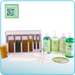 Waxing spa medium 6 refills incl. goederen