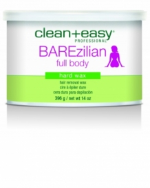 BAREzilian pot hard wax  396gr
